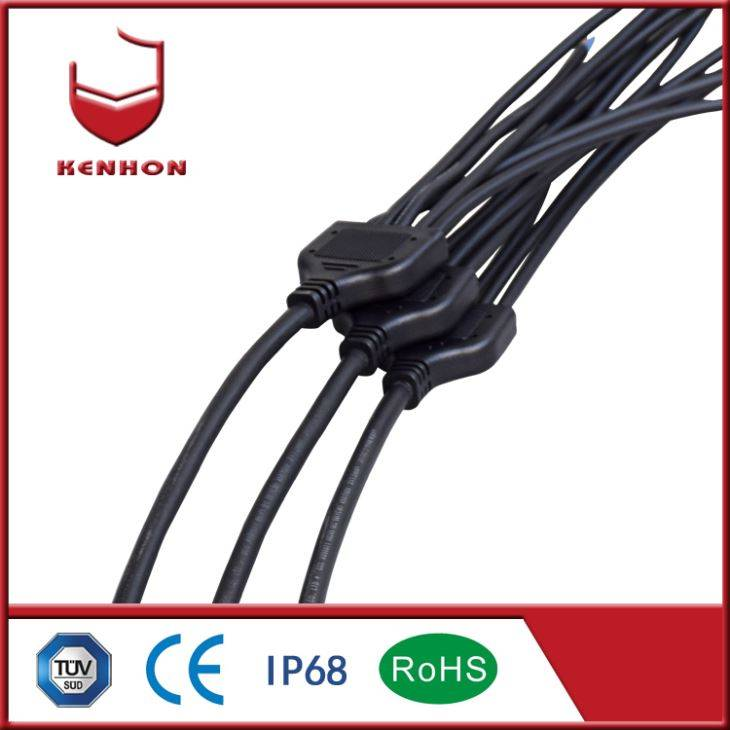 Y Type Waterproof Plug Connectors Electrical