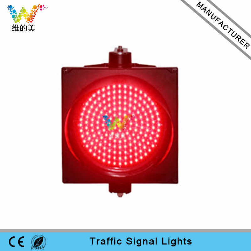 High quality 400mm red traffic light module high brightness traffic light replacement