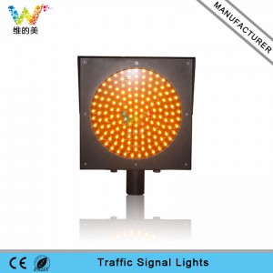 High quality good price yellow flash led traffic warning light