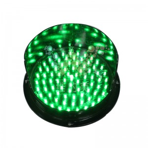 high brightness 200mm green LED traffic light core