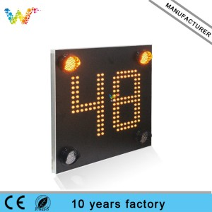 Custom Design Flashing Traffic Safety Sign led Speed Limit sign