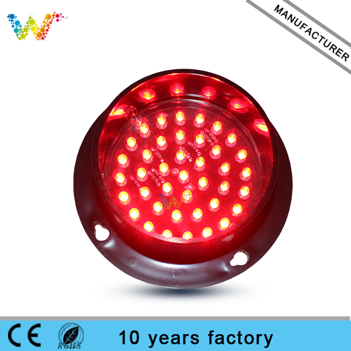 red yellow green LED module 88mm led traffic light module