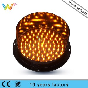 Clear Lens Red Yellow Green 200mm LED Traffic Light Module