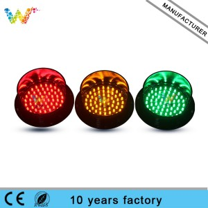 Exclusive model led arrow board lamp 125mm traffic light lamp