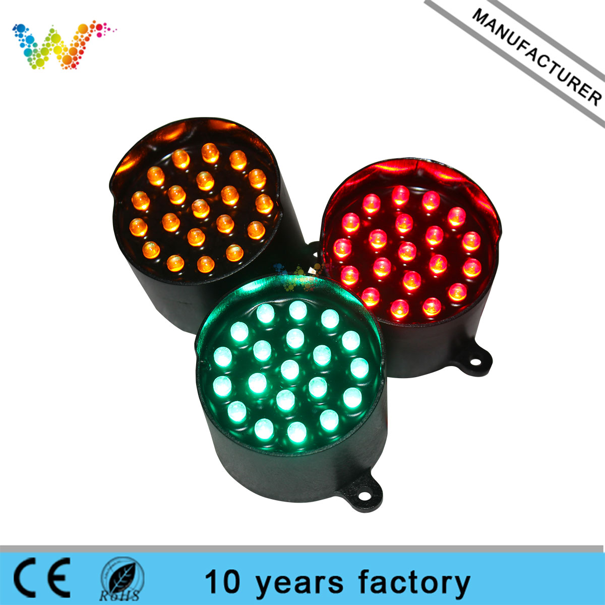 52mm Diameter Led Pixel Cluster for Traffic Guide Indicator