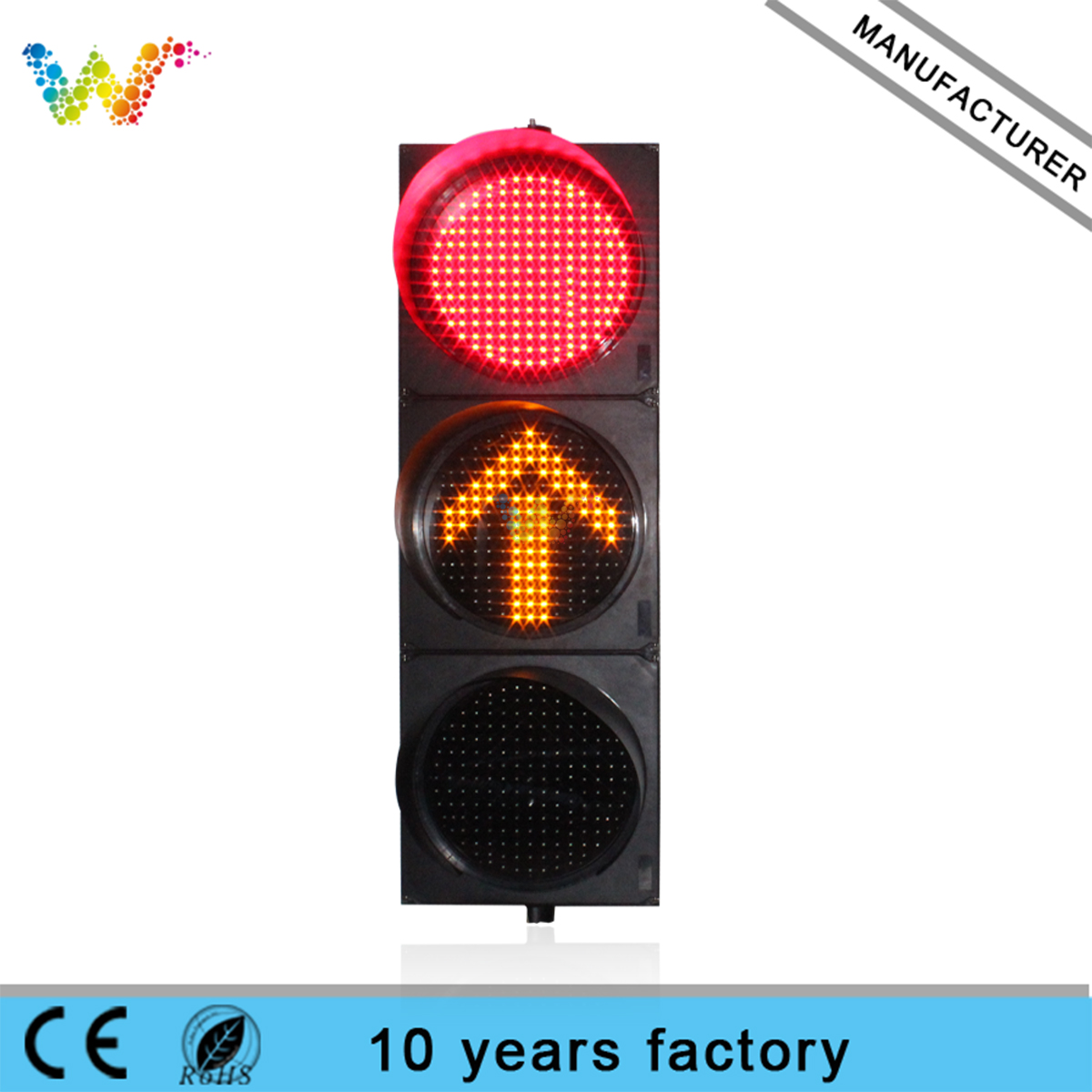 400mm red green yellow full ball arrow LED Traffic Light