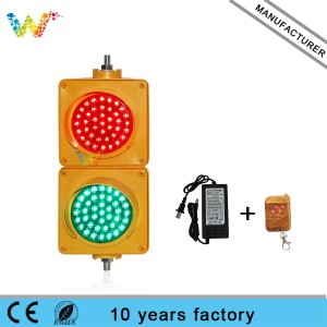 red green 100mm mini traffic light