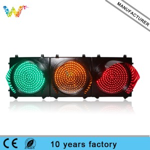 400mm Full-ball Aluminum Traffic Signal Light