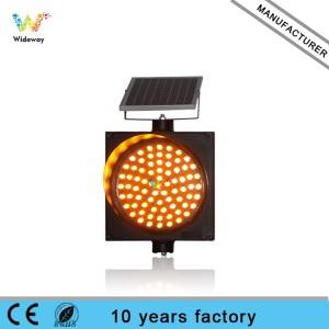 wholesale 300mm solar flashing warning light