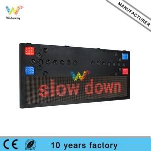 vehicle Mounted High Flashing Light Led Arrow Board