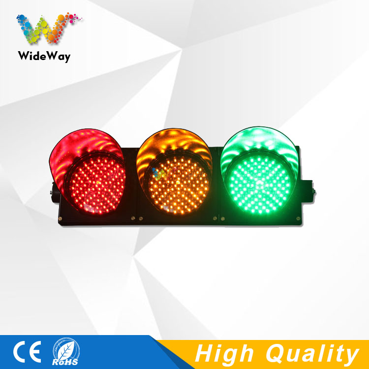 CE RoHS approved 200mm red yellow green LED traffic signal light