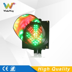 200mm red cross green arrow two in one LED traffic signal light