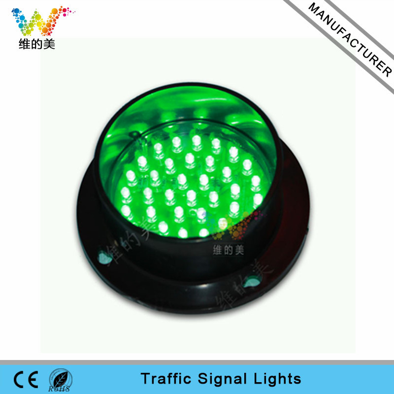 Traffic light parts Green LED lamp customized 85mm traffic light