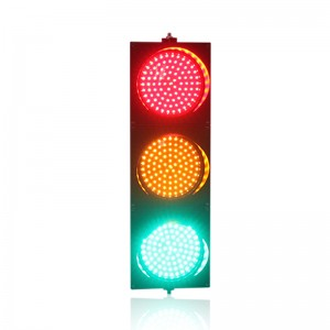 New design hot selling 200mm red yellow green LED traffic signal light for sale
