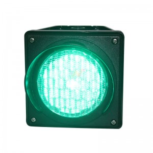 Customized 100mm green cobweb lamp  traffic light module