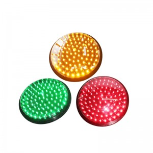10 years factory wholesale price 8 inch 200mm red yellow green LED traffic signal light replacement