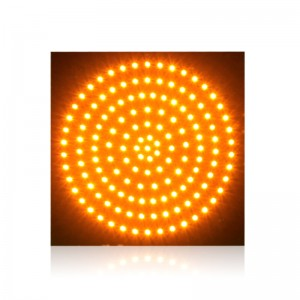 300mm yellow PCB board high brightness LED traffic signal light