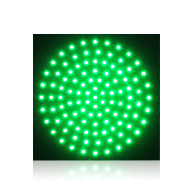 red yellow green color available 300mm PCB board traffic light lamp