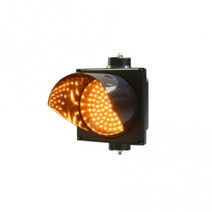 New 200mm yellow single LED full ball traffic signal light