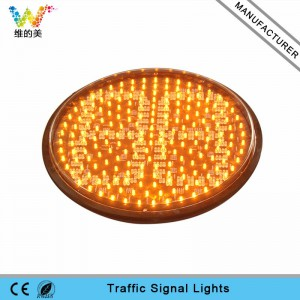 400mm red yellow green LED two digitals traffic countdown timer