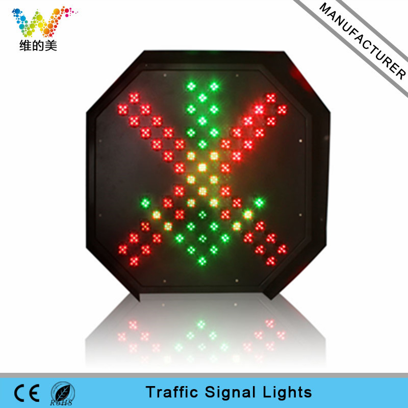 New customized 400mm toll station stop go signal led traffic light