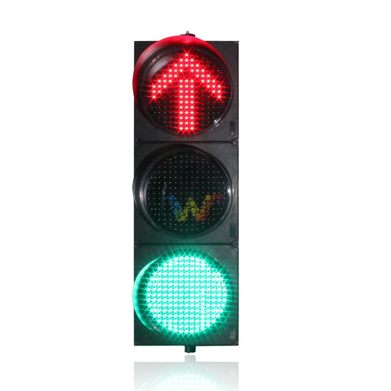 What is the function of each type of Traffic Lights?