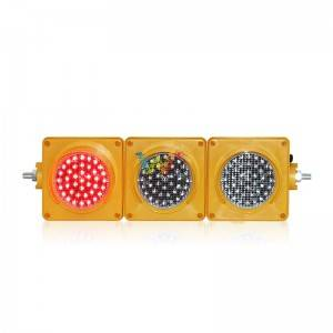 100mm red amber green 12v dc led traffic light
