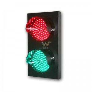 Customized aluminum 200mm red green LED traffic signal light
