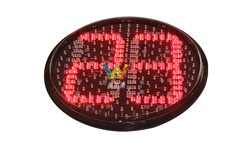 New design hot selling 400mm mix red green LED traffic light countdown timer