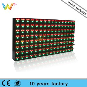P20 red green color outdoor traffic sign 2R1G led module