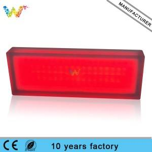 new zebra crossing Buried Light red green LED warning traffic light