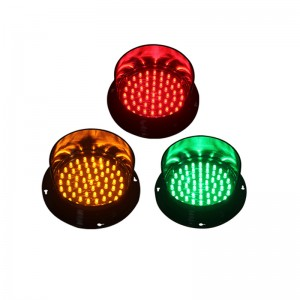 125mm red yellow green LED traffic signal light module DC12V DC24V traffic light replacement in France