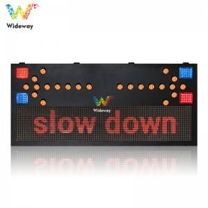 Malaysia full-color car-oriented led traffic arrow signs