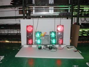 The purpose and composition of The shenzhen wide way traffic lights