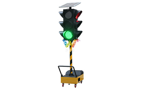 300mm portable traffic light