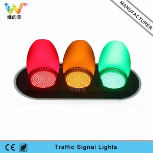 High brightness Epistar LED 300mm road traffic signal light