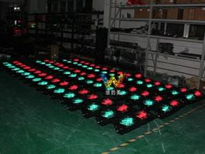 dynamic red green 300 mm led pedestrian traffic light