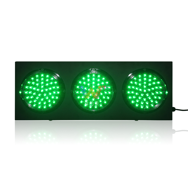 Customized 200mm cold-rolled plate traffic signal light for auto racing in Dubai