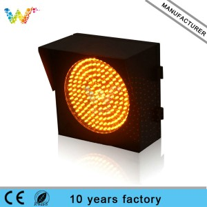 200mm fog signal traffic flashing warning light