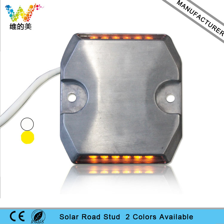 High quality waterproof aluminum housing tunnel LED wired road stud
