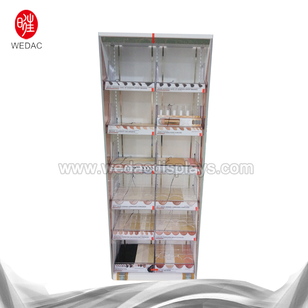 Pharmacy 600 width cosmetic floor stand Featured Image