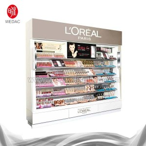 FLOOR STANDING COSMETICS DISPLAY STAND (JUNE. 2008)