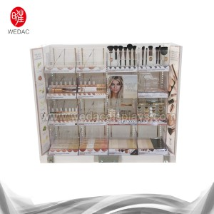 Floor Standing Cosmetics Display Stand 2bay (maaie. 2018)