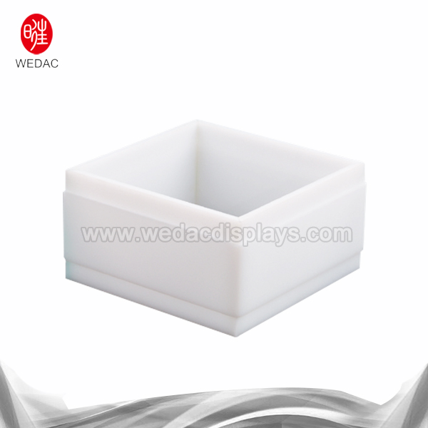 White acrylic display box Featured Image