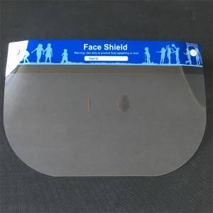 Disposable protective face shield NEW TYPE 2(ENG)