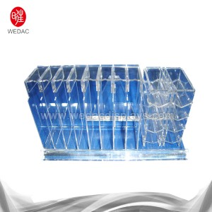 CE Certificate 3 Tier Acrylic Cosmetic Display Stand -