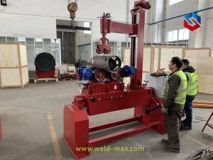 Customized Welding Rotator With Swing and Rotation