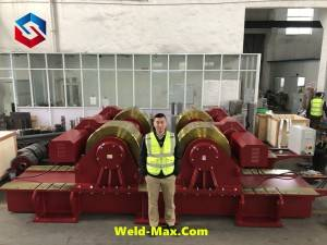 700Ton Conventional Welding Rotator finish assembling and testing
