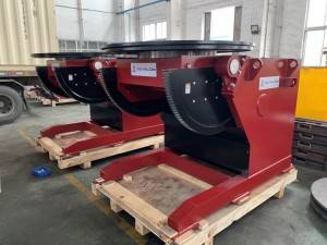 Welding Positioning Equipment — Welding Positioner Structure and characteristics