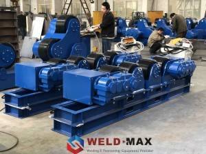 Welding And Positioning Equipment— Conventional Welding Rotator Completed